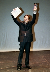 Lau Chi-lung won the Champion of Tremolo Solo at the 1st HK Harmonica Festival 2003