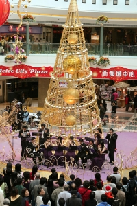 X'mas performance at Metro Plaza in 2006