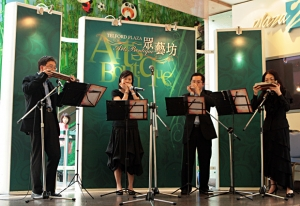 Performed at Telforld Plaza in Apr, 2008