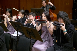 Playing in HKHA Orchestra