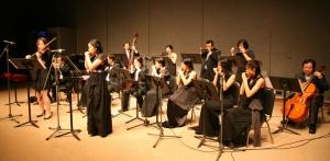 Playing Brandenburg Concerto No.5