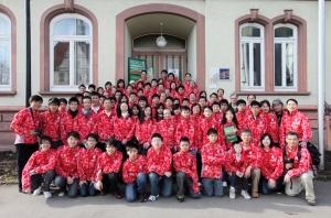 in front of Trossingen Music School