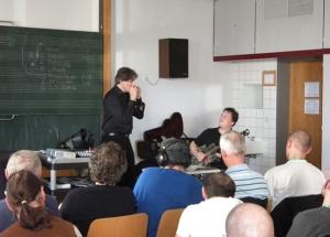 attending harmonica workshop