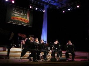 King's Harmonica Quintet performed at Dr. Hohner Concert Hall