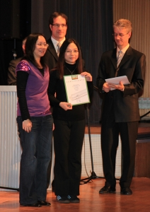 was awarded the certificate of Excellent in Open Category
