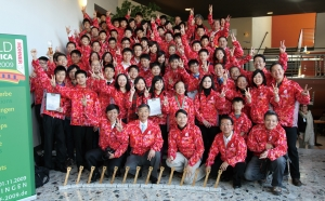 Hong Kong Delegation Group won 14 awards