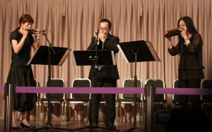 Performed at Hong Kong Cultural Center Foyer in May 2010