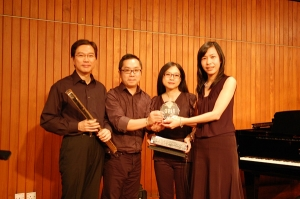 Received souvenir from Rady, Director of Music Link Studio on 11 Sep 2011