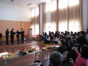 Harmonica Art Exchange between Hong Kong & Hangzhou in Hangzhou in 2007 (淅江省藝術職業學院)