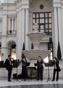Music Art Performance at MGM Hotel, Macau in 2008
